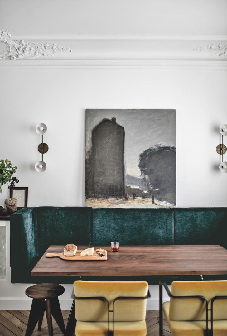Между прошлым и будущим: квартира в Париже (фото 0)