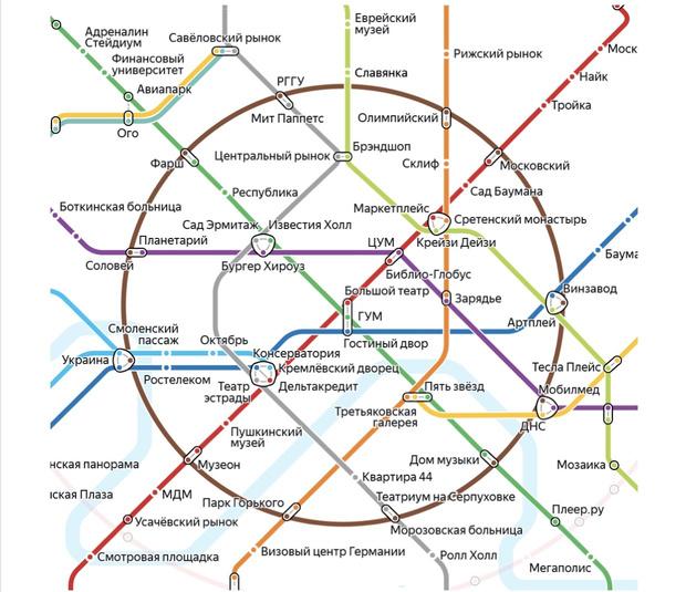 Все «места силы» Москвы на одной понятной карте (фото 1)