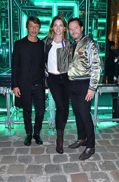 Стелла Маккартни, Сальма Хайек и Наталья Водянова на приеме в честь запуска Fashion Tech Lab | галерея [2] фото [1]