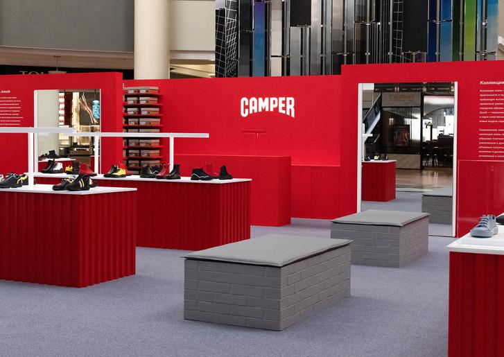 Pop-up бутик Camper по дизайну студии Asketik (фото 3)
