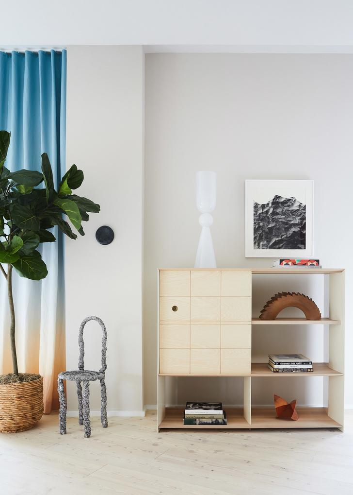 Апартаменты на Манхэттене в спокойной гамме (фото 6)