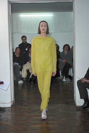 Показ Adeline Andre коллекции сезона Весна-лето 2010 года haute couture - www.elle.ru - Подиум - фото 138077