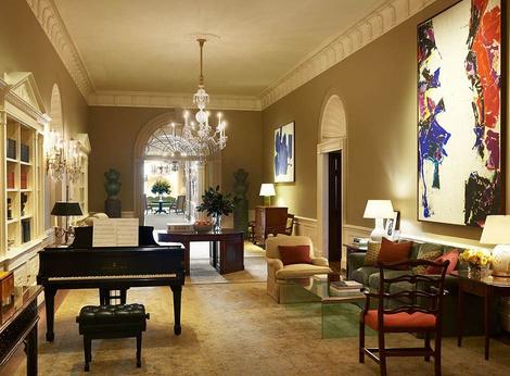 Как выглядят апартаменты президентской семьи в Белом доме? | галерея [2] фото [2]