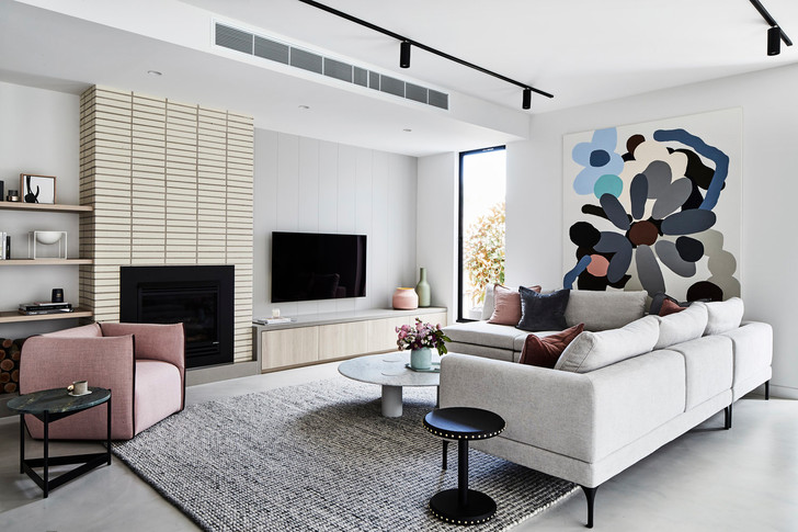 Дом в Мельбурне с пастельными акцентами (фото 0)