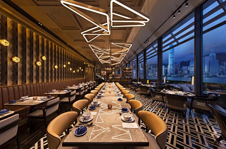Ресторан в Гонконге в стиле киноленты Вонга Кар-Вая «Любовное настроение» (фото 6)