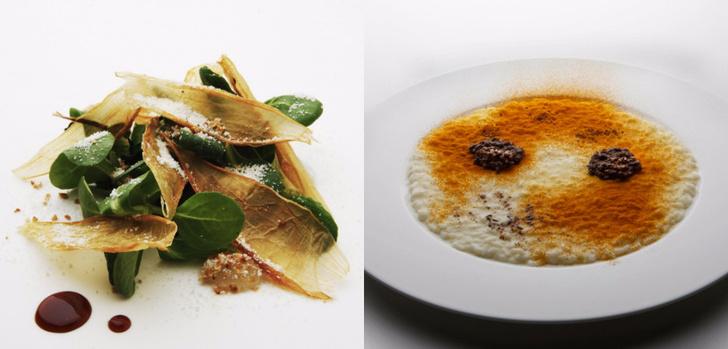 Ресторан Ristorante Cracco Michelin еда