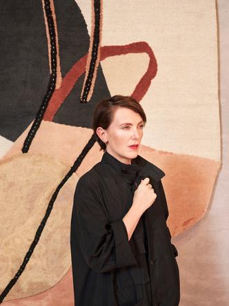 Рисуем каракули: коллекция ковров Фэй Тугуд для cc-tapis (фото 0)