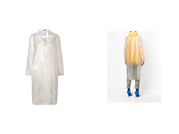 Transparent spring: прозрачный плащ, который подойдет ко всем вещам в вашем гардеробе (фото 2)