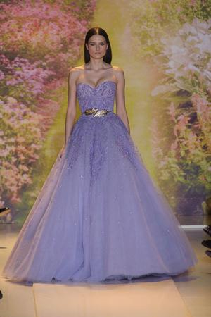 Показ Zuhair Murad коллекции сезона Весна-лето 2014 года haute couture - www.elle.ru - Подиум - фото 575376