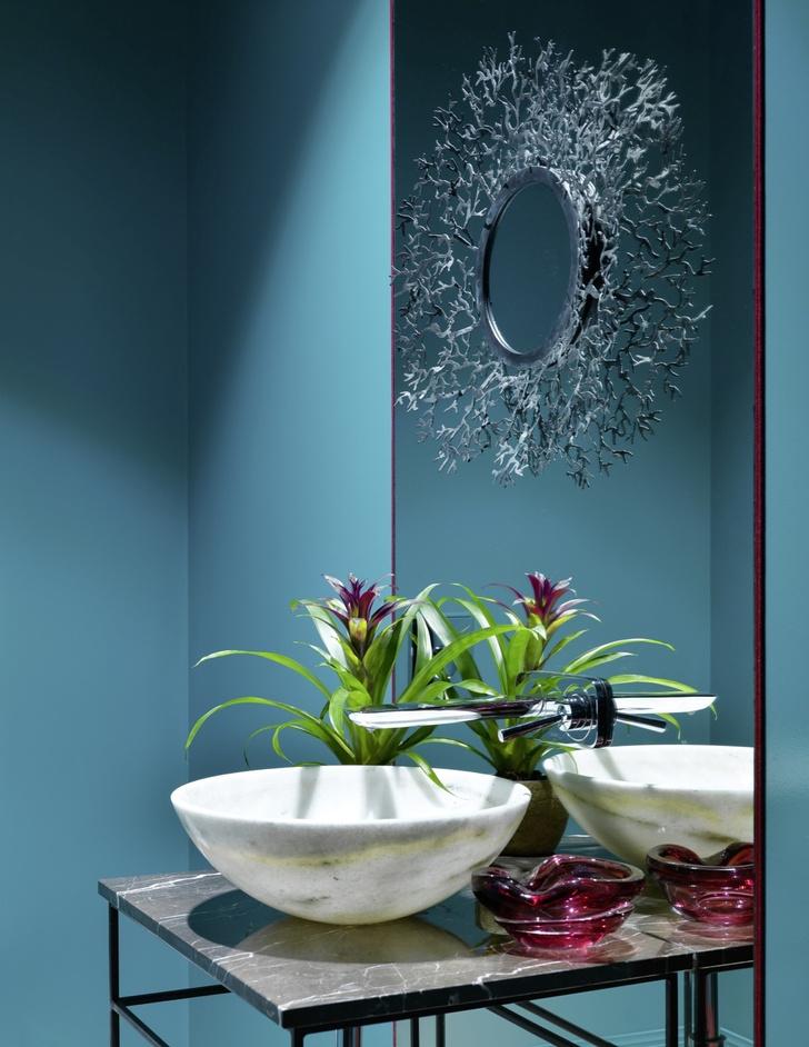 Зеркало в ванной: 20 ярких идей (галерея 1, фото 11)