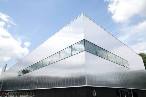Открывается новое здание музея «Гараж»