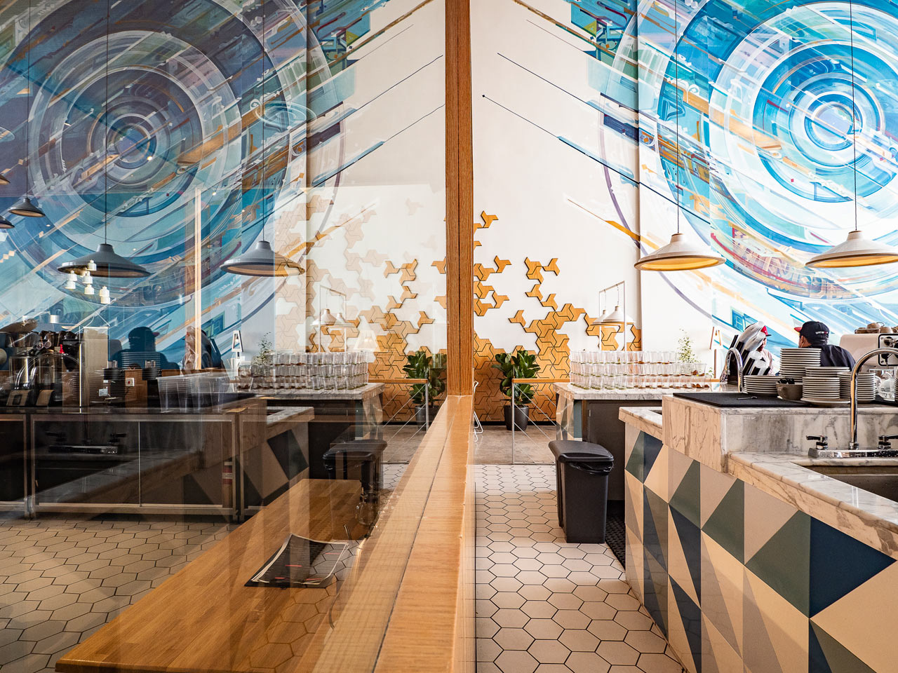 Кафе Liqui Design Completes its Third Brew92 Coffee Shop (галерея 5, фото 5)