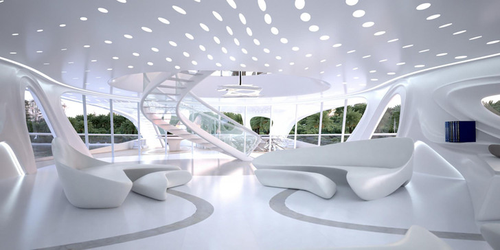 Яхта Jazz Yacht, дизайн Захи Хадид