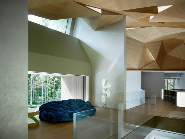 Необычный загородный дом по проекту Уильяма Савайи (фото 16)