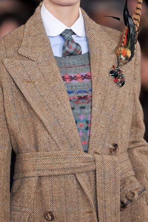 Показ Ralph Lauren коллекции сезона Осень-зима 2012-2013 года prêt-à-porter - www.elle.ru - Подиум - фото 350826