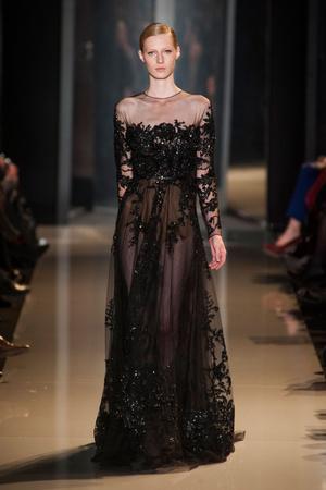 Показ Elie Saab коллекции сезона Весна-лето 2013 года Haute couture - www.elle.ru - Подиум - фото 480405