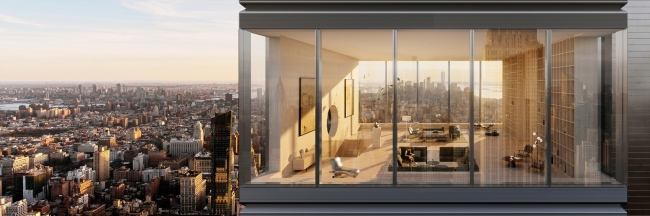 «Меганом» построит на Манхэттене супертонкий небоскреб