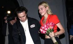 Бруклин Бекхэм устроил романтический вечер для своей девушки