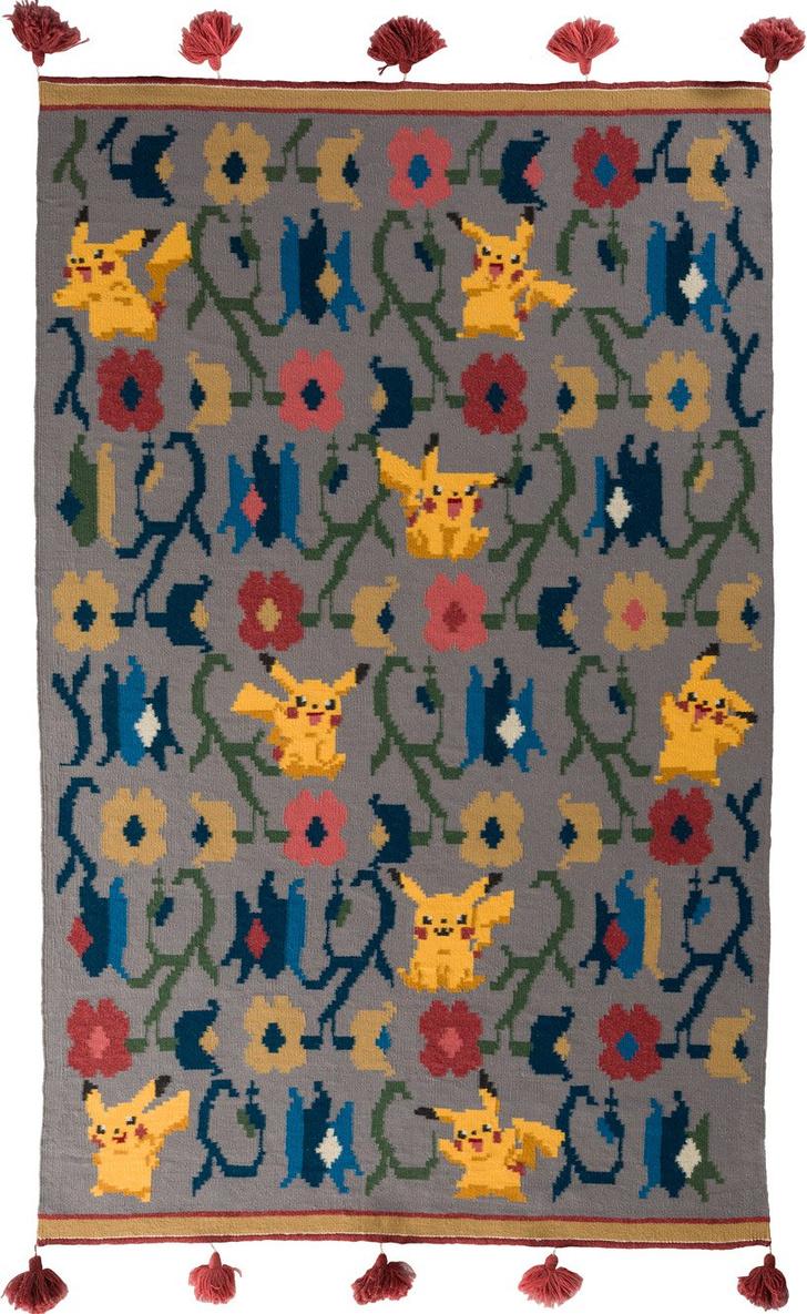 Украинские килимы и пикачу: художник Оксана Левченя (фото 6)