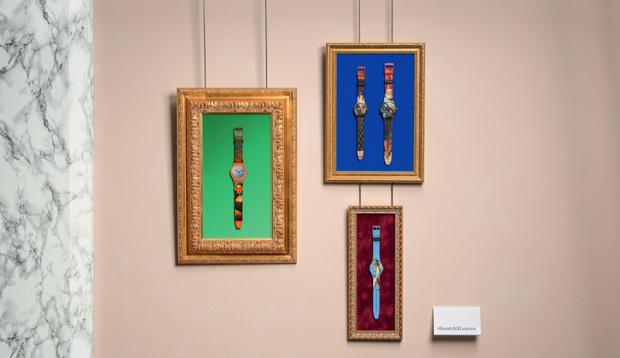 Новые часы Swatch х Лувр: произведения искусства на вашей руке (фото 1)