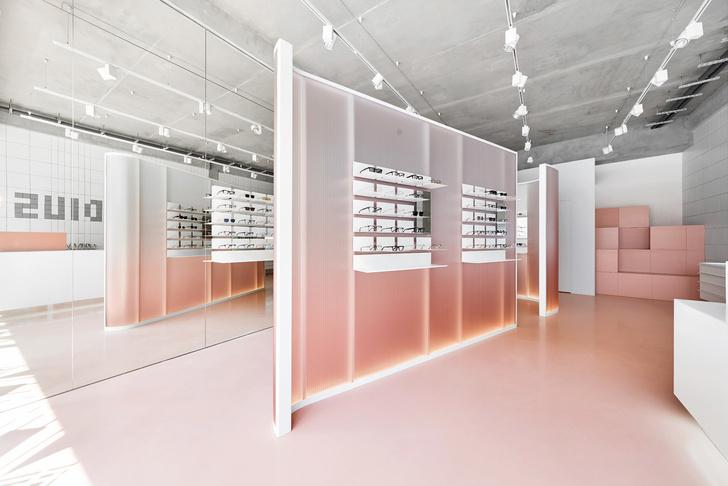 Розовый магазин оптики в Санкт-Петербурге (фото 0)
