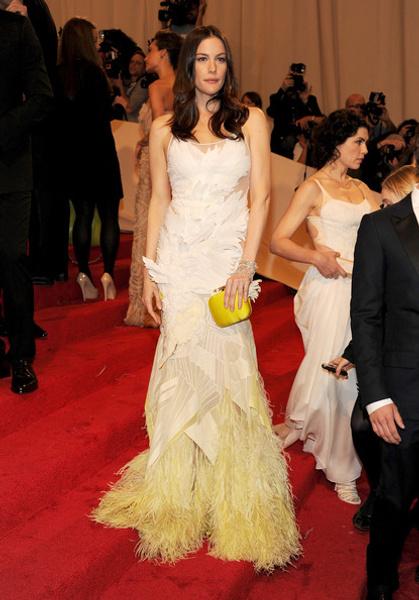 Лив Тайлер в Givenchy Haute Couture