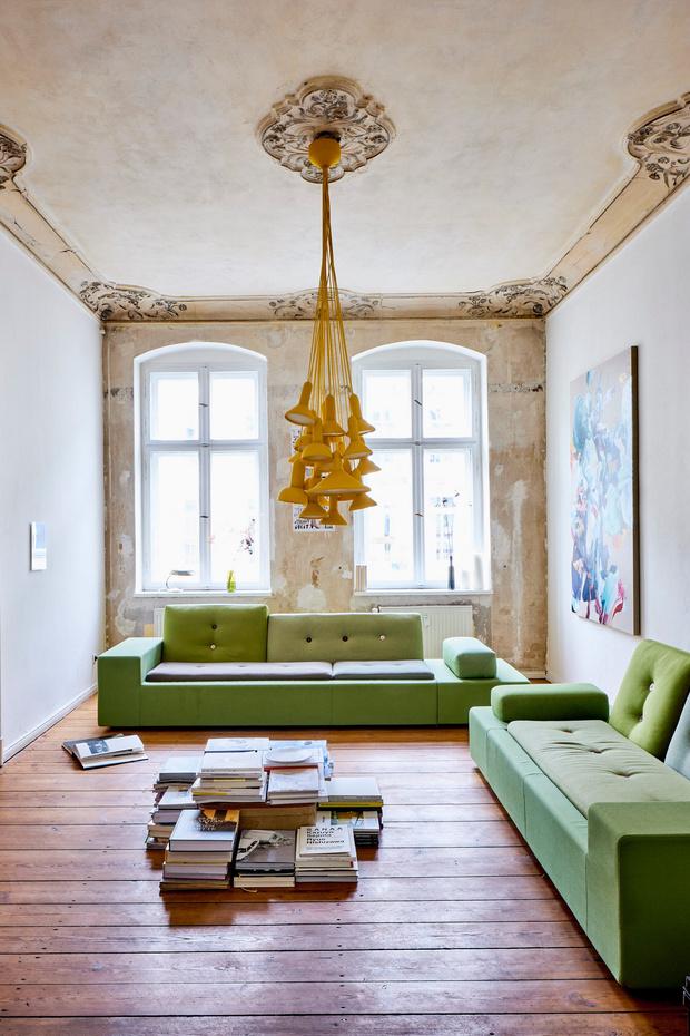 Квартира в старом доме в Берлине (фото 0)