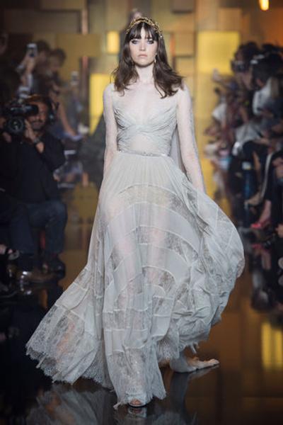 10 самых красивых свадебных платьев с Недели Высокой моды в Париже. | галерея [1] фото [8]