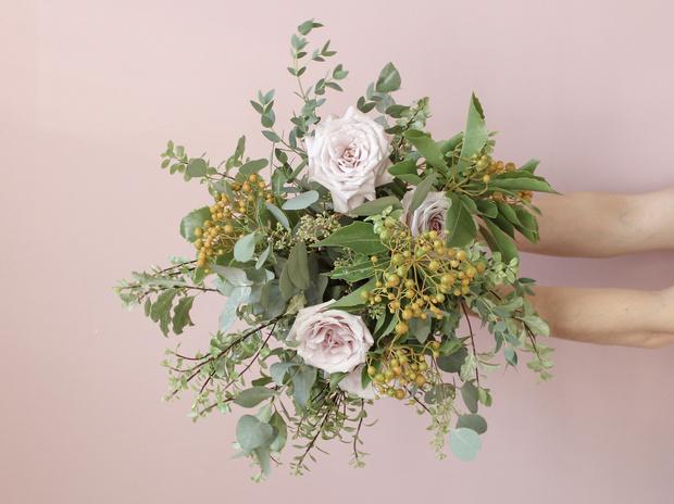 Мастер-класс: осенний букет из диких цветов (фото 21)