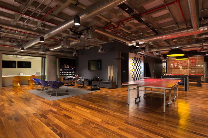 Необычный офис Google в Бразилии (фото 8)