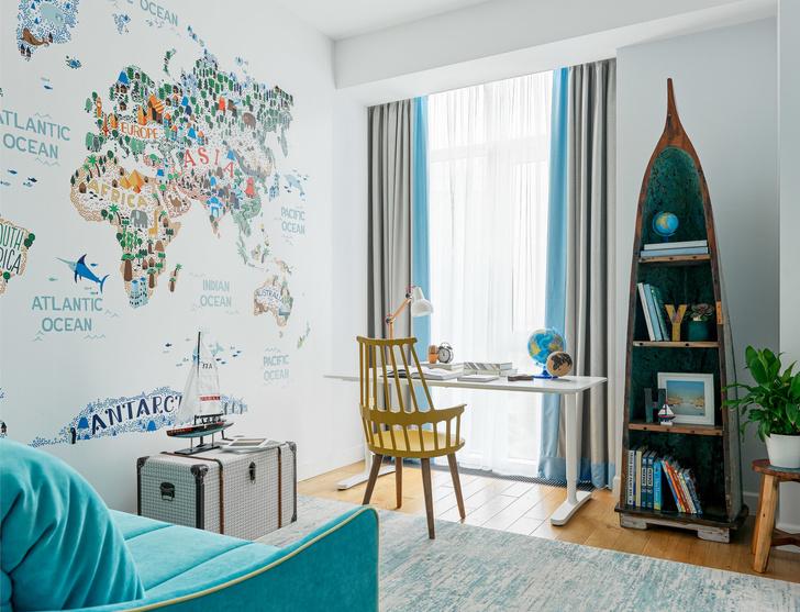 Яркая квартира 140 м² для семьи путешественников (фото 15)
