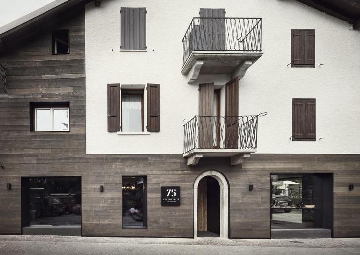 Винный бар-бистро 75 Café & Lounge — новый проект Пьеро Лиссони (фото 2)