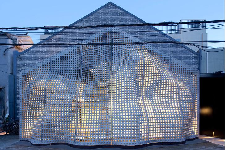 Невесомый бетон: экспериментальный фасад в Пекине (фото 3)