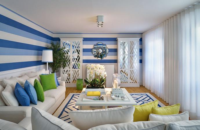 Средиземноморский стиль в интерьере: декор, советы | галерея [2] фото [2]