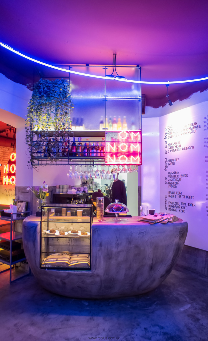 Веганское кафе OMNOMNOM в Львове (фото 0)
