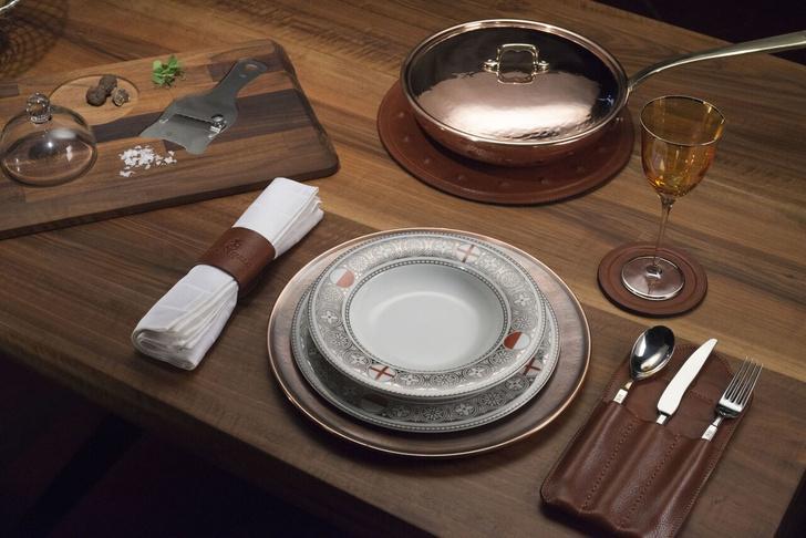 Новая коллекция столовых приборов Officine Gullo (фото 0)