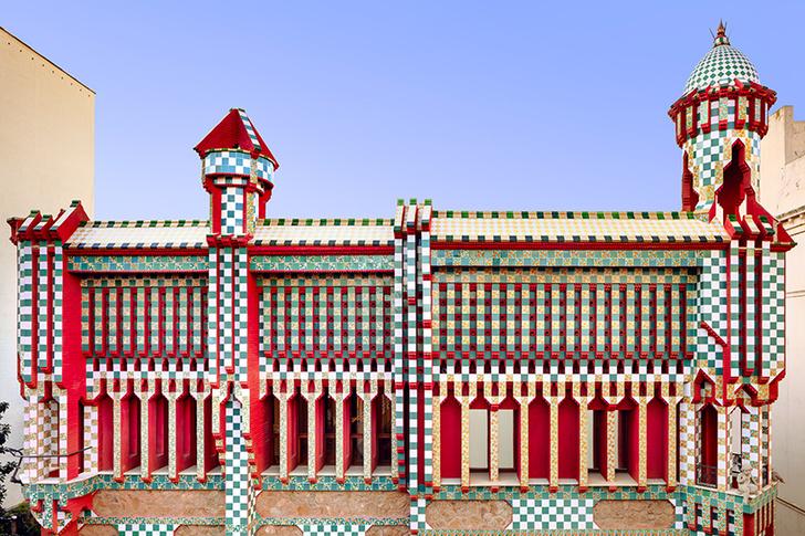 Яркий коворкинг в духе архитектуры Гауди (фото 2)