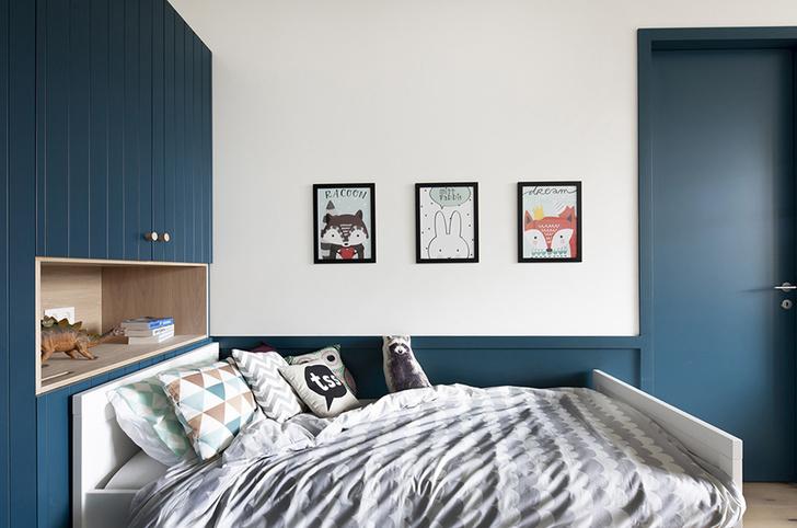 Квартира 150 м²: нескучный проект в скандинавском стиле (фото 10)