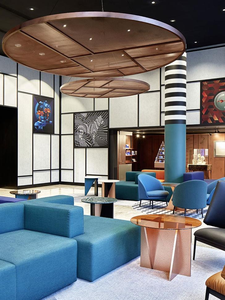 Отель в Берлине: проект дизайн-бюро Sundukovy Sisters (фото 5)