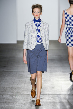Показы мод Karen Walker Весна-лето 2012 | Подиум на ELLE - Подиум - фото 2018