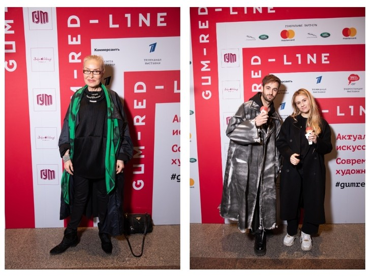 Ксения Собчак, Риналь Мухаметов и другие гости открытия выставки ГУМ-Red-Line (фото 6)