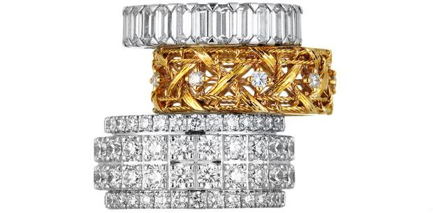 Кольцо Possession, белое золото, бриллианты, Piaget, 849 655 руб. Кольцо My Dior, розовое золото, бриллианты, Dior Joaillerie, 200 000 руб. Кольцо, белое золото, бриллианты, Graff, 1 467 400 руб.