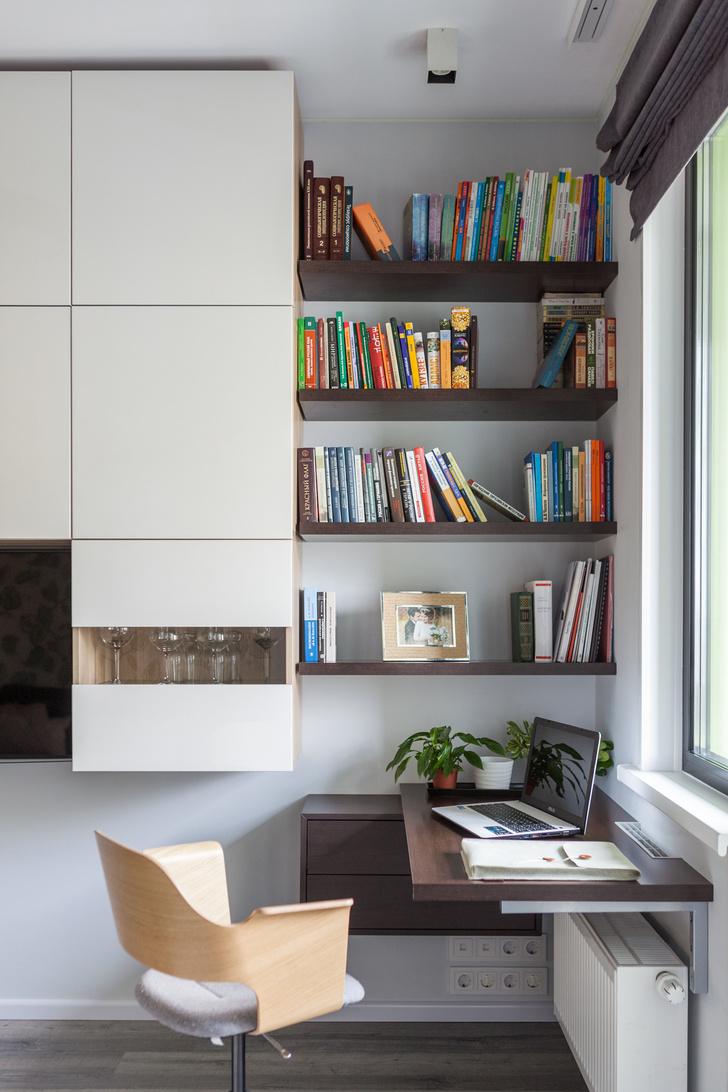 Идеальный баланс: квартира 38 м² для двоих  в Москве (фото 3)