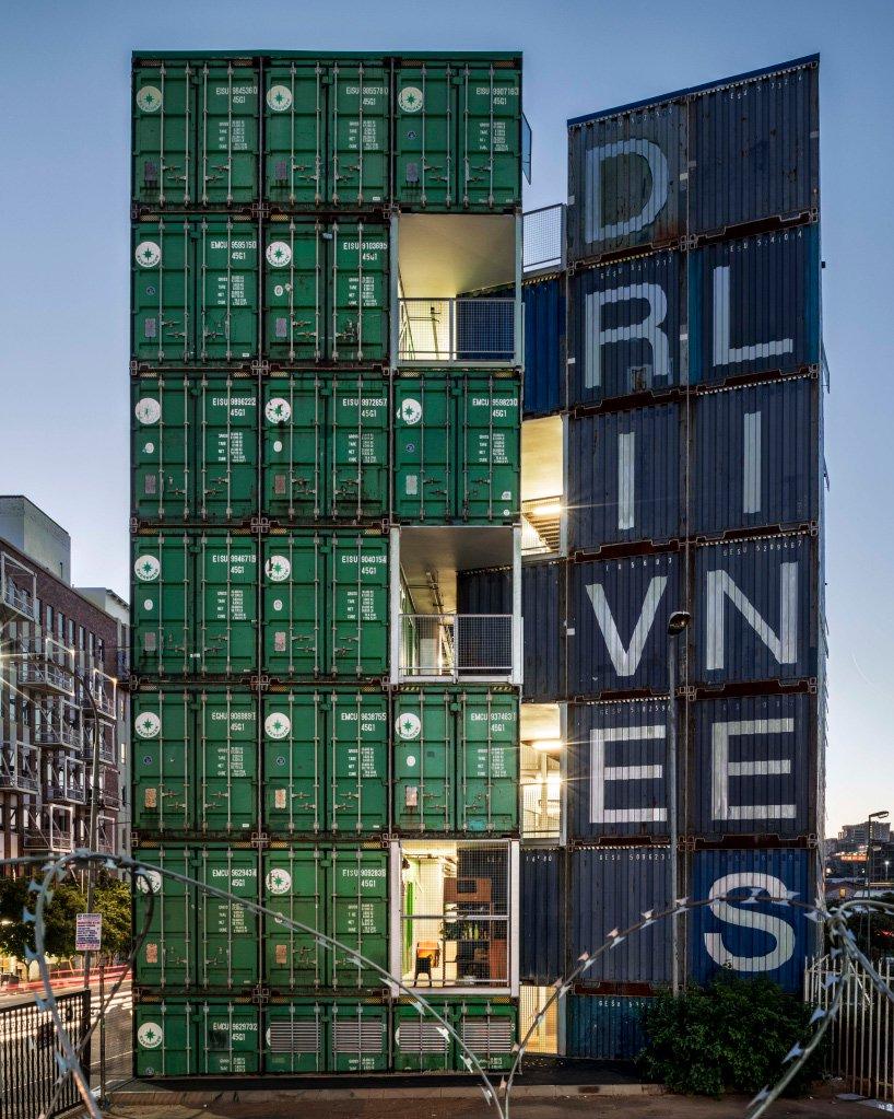 Дома из грузовых контейнеров: вдохновляющие примеры (галерея 2, фото 2)