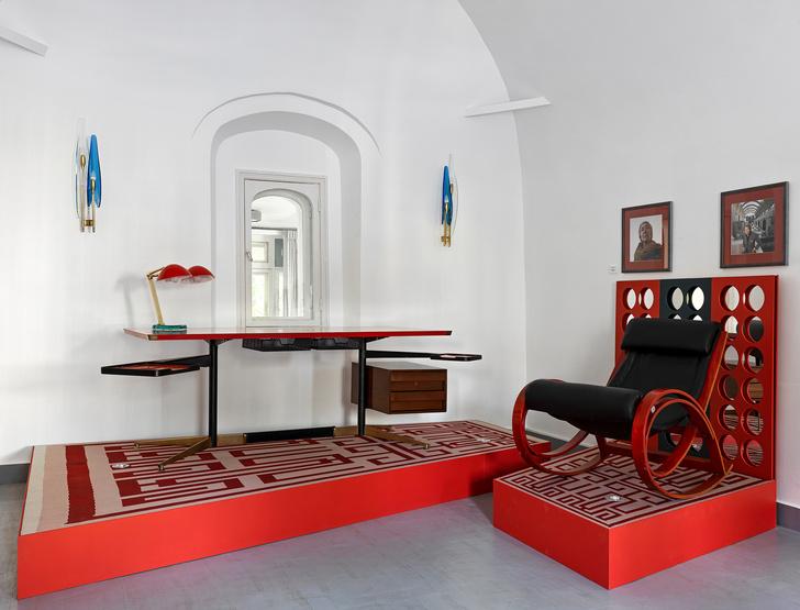 Выставка Gio Ponti & Amici в галерее дизайна MIRRA (фото 0)