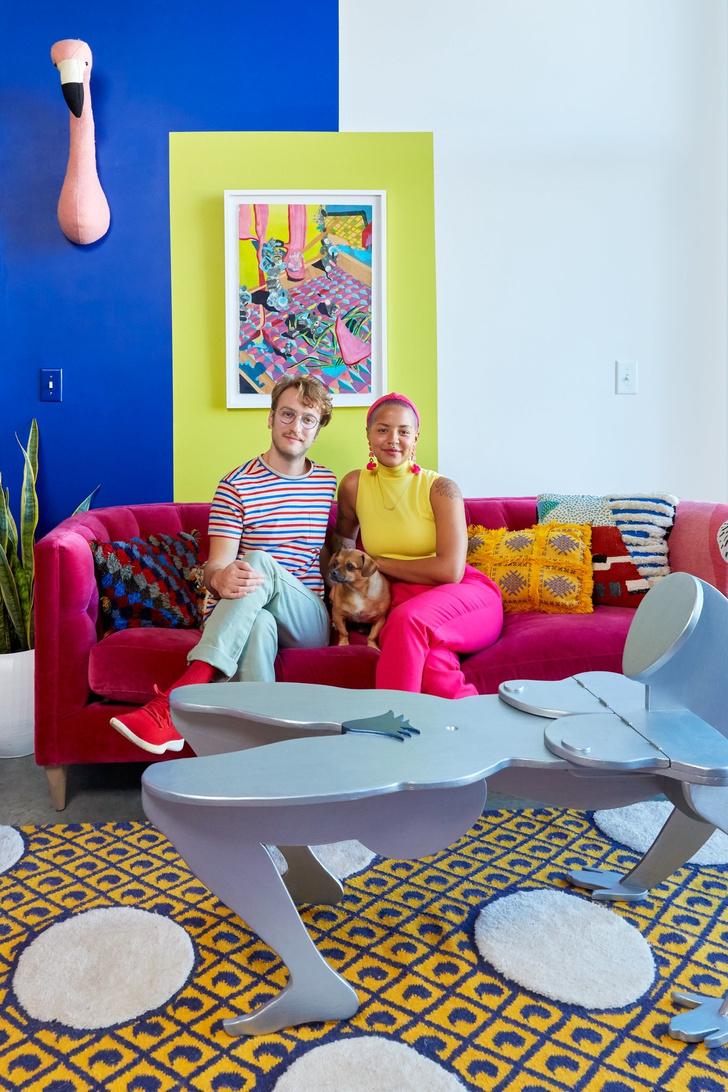 Тропический рай: дом для творческой пары в Атланте (фото 2)