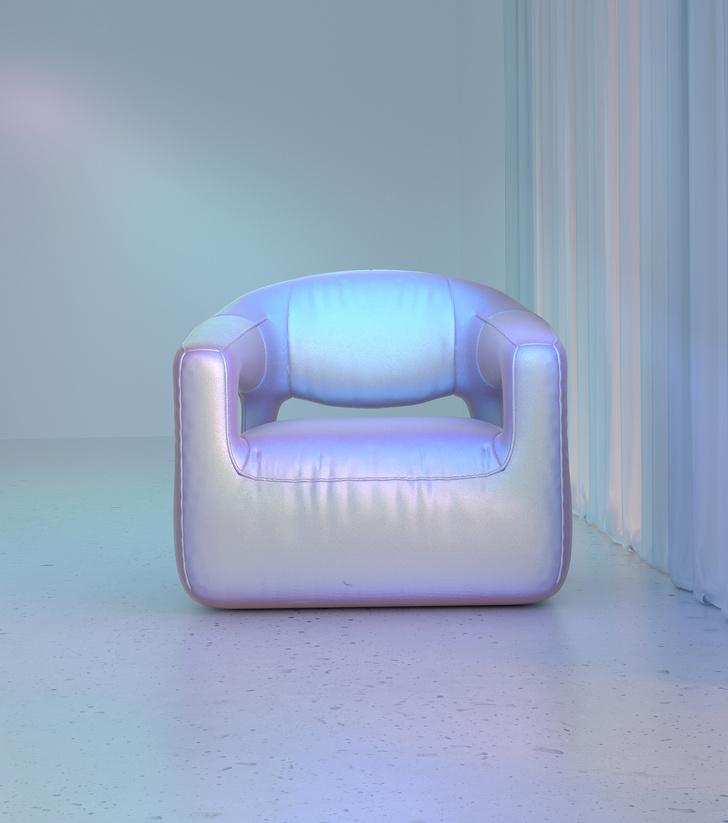 Голографическая мебель от студии Six N. Five (фото 7)