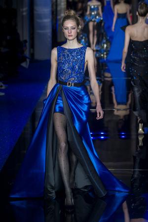 Показ Zuhair Murad коллекции сезона Весна-лето  2017 года haute couture - www.elle.ru - Подиум - фото 616738