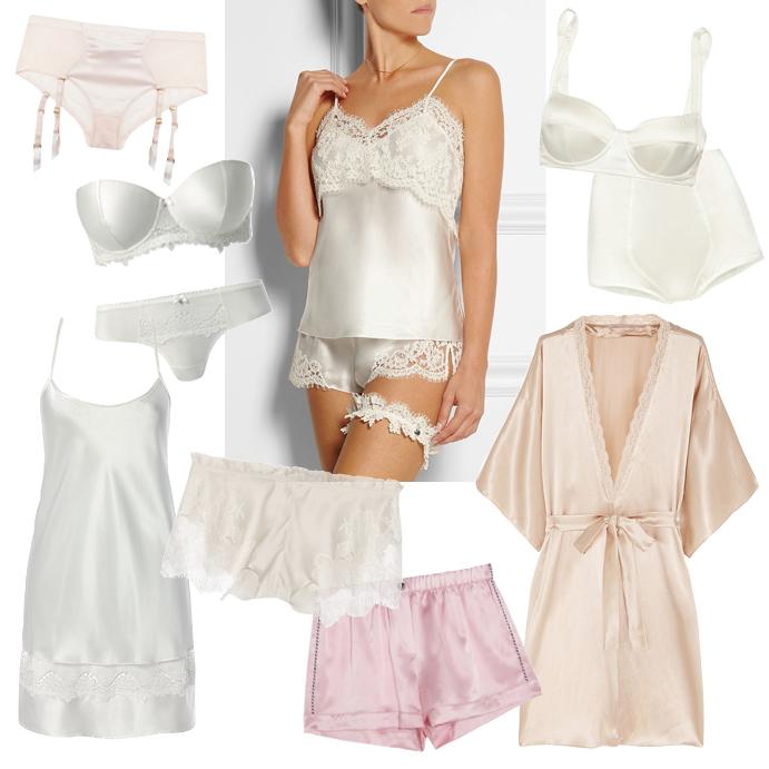 938dcb8375a29 Ночь нежна: модное свадебное белье этого лета | Практика на www.elle.ru