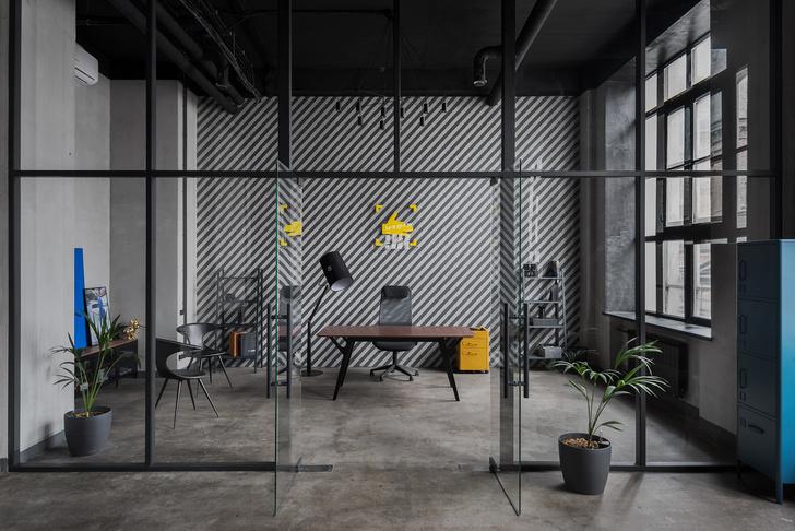 Современный офис PR-агентства на Трехгорке (фото 0)